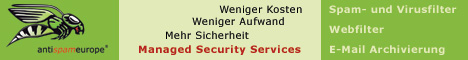 Managed Security Services von antispameurope